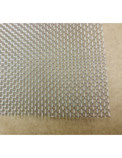 Grille inox - Maille 1.1 mm - 140x200mm
