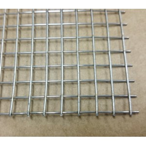 Grille Inox - maille 6 mm - 140x200 mm