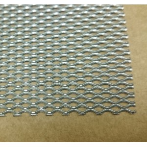 Grille inox - Maille diagonale 1.7x3.5mm - 140x200mm
