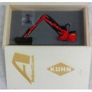 EPAREUSE KUHN MULTI-LONGER 5551 ROUGE