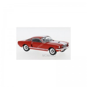 IXO MODELS - FORD MUSTANG SHELBY GT 350 1965 ROUGE- - Miniature automo