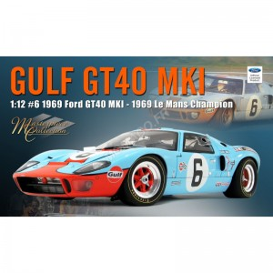 """ACME - FORD GT40 MKI 6 """"GULF"""" JACKY ICKX LE MANS 1969 1ER- - Miniature"""