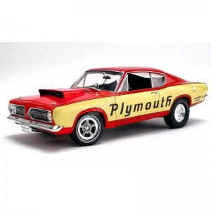 """ACME - PLYMOUTH BARRACUDA SUPER STOCK """"PLYMOUTH """"1968- - Miniature aut"""