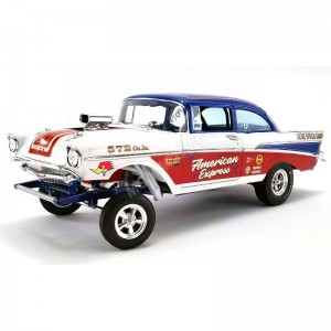 "ACME - CHEVROLET BEL AIR GASSER ""AMERCIAN EXPRESS"" 1957- - Miniature a"
