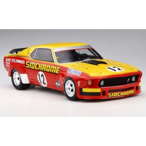 ACME - FORD MUSTANG 12 JIM RICHARDS 1969 SIDCHROME- - Miniature automo