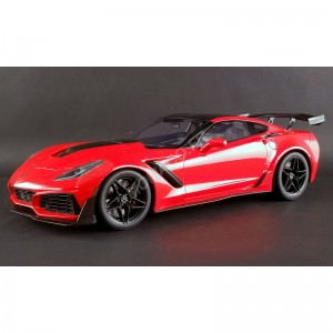 ACME - CHEVROLET CORVETTE ZR 2019 ROUGE - - Miniature automobile
