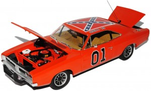 Dodge Charger 1969 Dukes of Hazzard General Lee - GREENLIGHT - 1:18