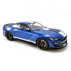 ACME - FORD MUSTANG SHELBY GT500 2020 PERFORMANCE BLEUE - - Miniature