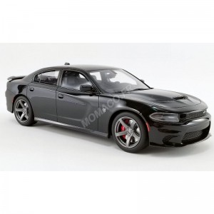 ACME - DODGE CHARGER SRT HELLCAT 2019 PITCH BLACK- - Miniature automob