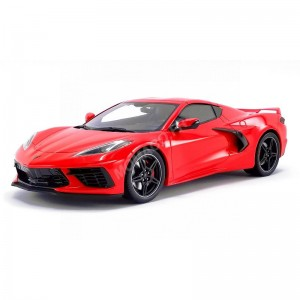 ACME - CHEVROLET CORVETTE C8 2020 ROUGE- - Miniature automobile