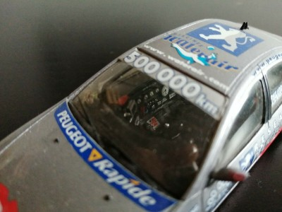 Scalextric - Chevrolet Monte Carlo 1986 - Rouge & Blanc [NOUVEL OUTIL
