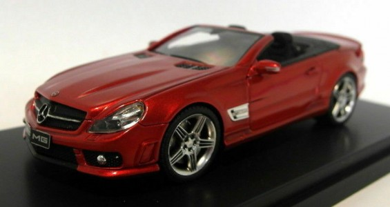 Mercedes AMG SL 65 Cabrio Red - 1:43 - Absolute Hot