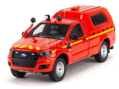 Ford Ranger 2 Doors Pick-Up Pompiers - Alarme - 1:43